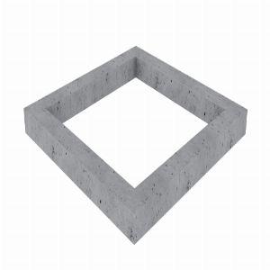 Цоколь из бетона, арт. С1000