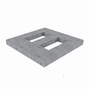 Цоколь из бетона, арт. С1002
