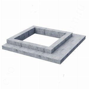 Цоколь из бетона, арт. С1008