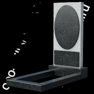 Надгробие с цветником на могилу, арт. Е1050