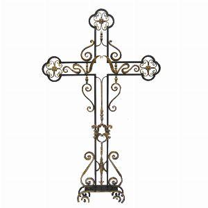 Декоративный элемент - Крест кованый