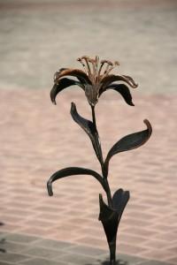 Декоративный элемент - Лилия