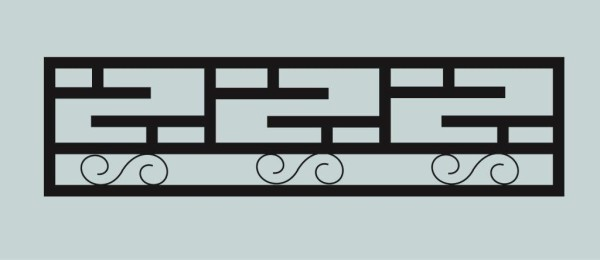 Ограда для могилы сварная металлическая, арт. ОГ024