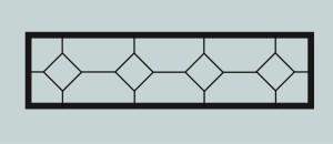 Ограда для могилы сварная металлическая, арт. ОГ025