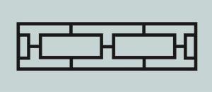 Ограда для могилы сварная металлическая, арт. ОГ028