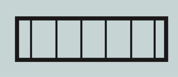 Ограда для могилы сварная металлическая, арт. ОГ029