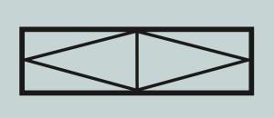 Ограда для могилы сварная металлическая, арт. ОГ031
