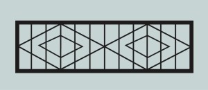Ограда для могилы сварная металлическая, арт. ОГ053