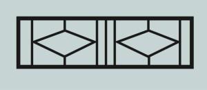 Ограда для могилы сварная металлическая, арт. ОГ034