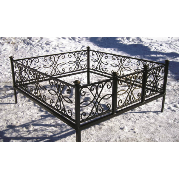 Ограда для могилы - Ажур, арт. ОГ068