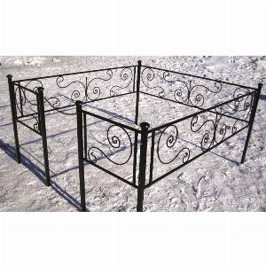 Ограда для могилы - Бриз, арт. ОГ001