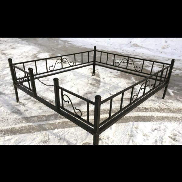 Ограда для могилы - Чайка, арт. ОГ008