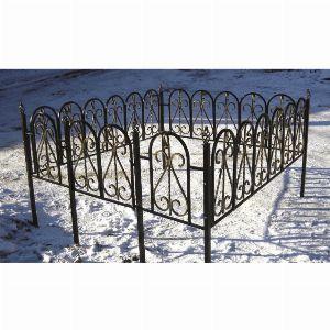 Ограда для могилы - Дюна, арт. ОГ057