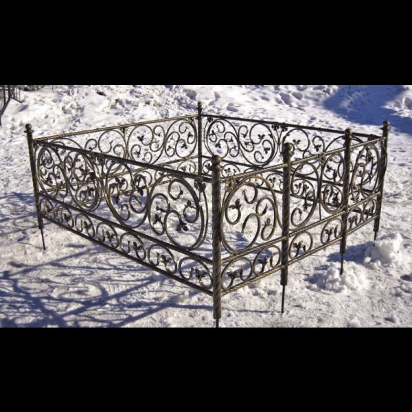 Ограда для могилы - Элегия 2, арт. ОГ085