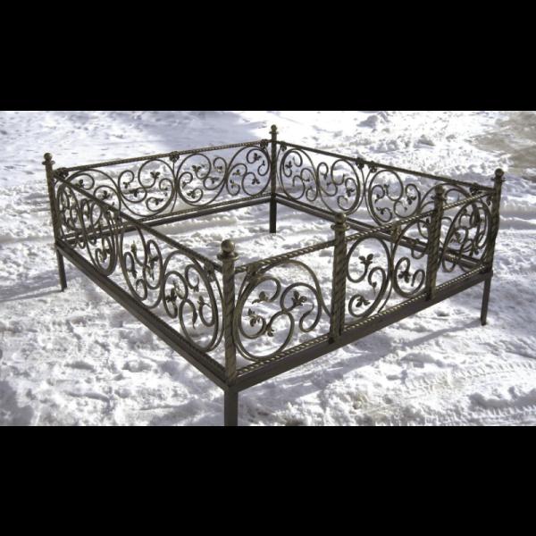 Ограда для могилы - Элегия, арт. ОГ083