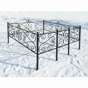 Ограда для могилы - Этюд, арт. ОГ045