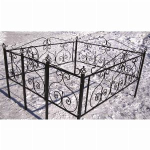 Ограда для могилы - Гранат, арт. ОГ006