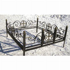 Ограда для могилы - Грот, арт. ОГ077
