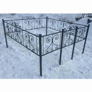 Ограда для могилы - Капля, арт. ОГ009