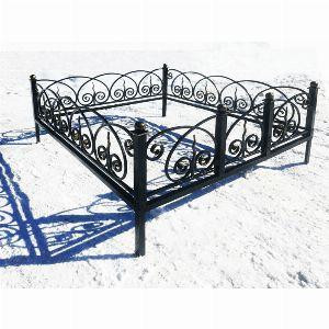 Ограда для могилы - Кармен, арт. ОГ080
