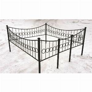 Ограда для могилы - Кольцо, арт. ОГ007