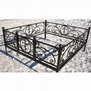Ограда для могилы - Крипта, арт. ОГ069