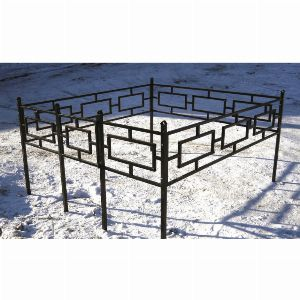 Ограда для могилы - Квадрат, арт. ОГ004
