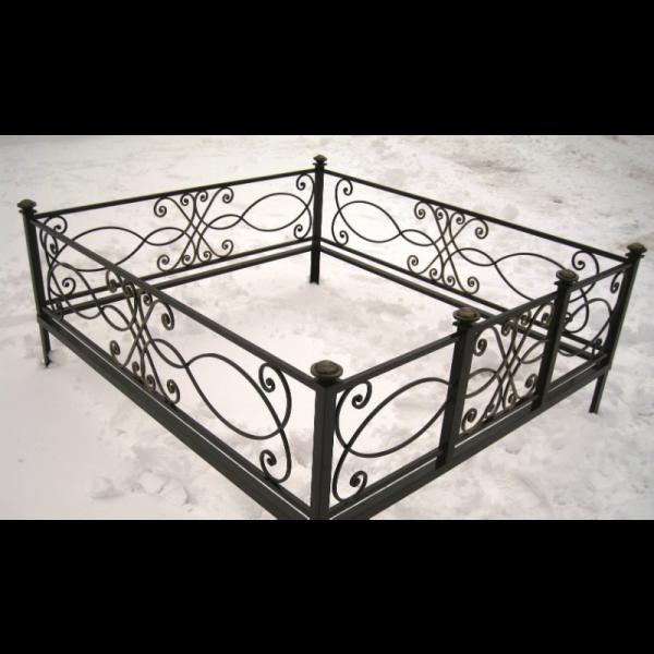 Ограда для могилы - Ладога, арт. ОГ067
