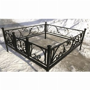 Ограда для могилы - Лиана, арт. ОГ048