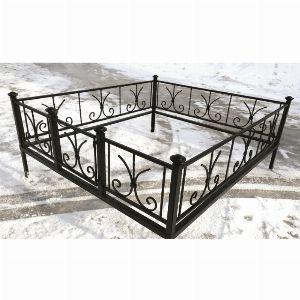 Ограда для могилы - Лилия, арт. ОГ039