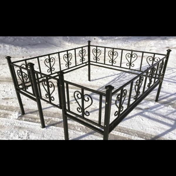Ограда для могилы - Лира, арт. ОГ058