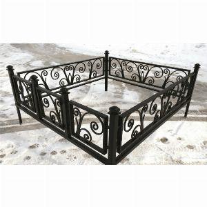 Ограда для могилы - Лоза, арт. ОГ070