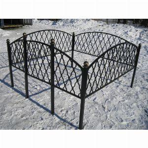 Ограда для могилы - Монастырская вязь, арт. ОГ087