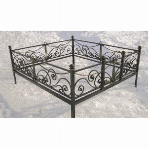 Ограда для могилы - Морская, арт. ОГ079