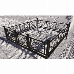 Ограда для могилы - Овен, арт. ОГ040