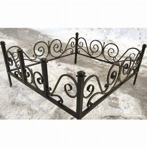 Ограда для могилы - Пика, арт. ОГ071