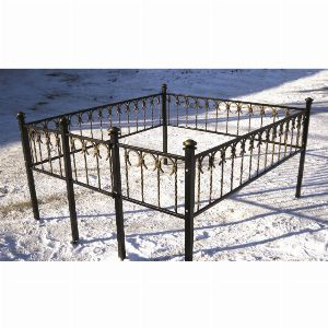 Ограда для могилы - Подкова, арт. ОГ064