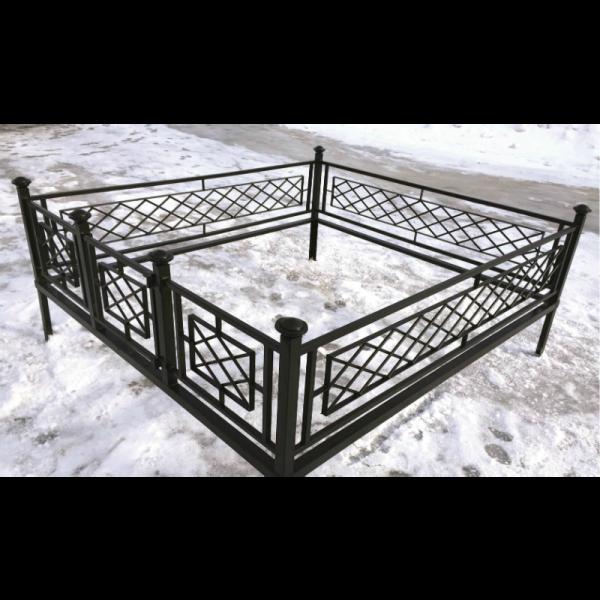 Ограда для могилы - Решетка, арт. ОГ041