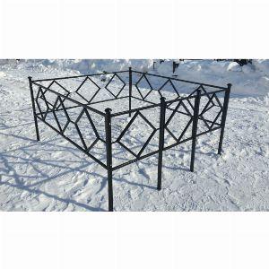 Ограда для могилы - Ромб, арт. ОГ005
