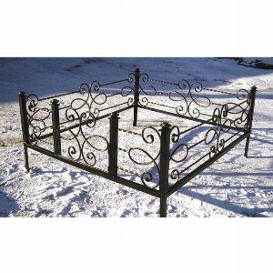 Ограда для могилы - Соната, арт. ОГ073