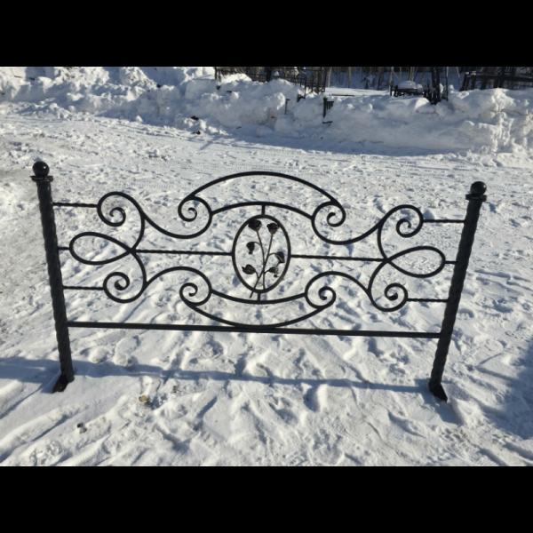 Ограда для могилы - Венеция 2, арт. ОГ086