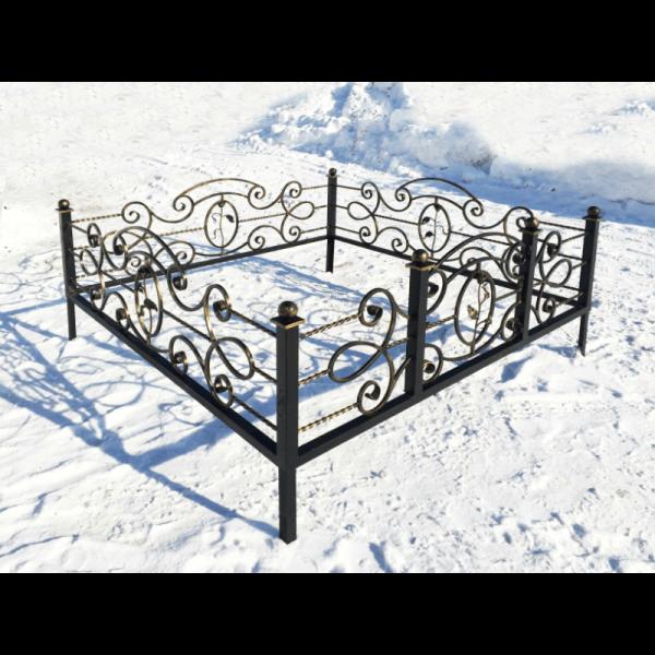 Ограда для могилы - Венеция, арт. ОГ081
