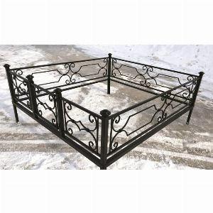 Ограда для могилы - Венера, арт. ОГ047