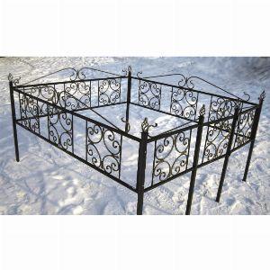 Ограда для могилы - Верба, арт. ОГ059