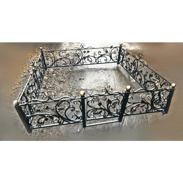 Ограда для могилы - Версаль, арт. ОГ091