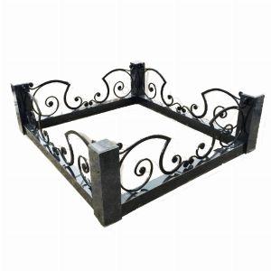Ограда с гранитом - Комплекс Карета
