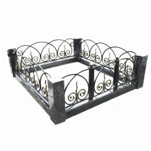 Ограда с гранитом - Комплекс Кармен