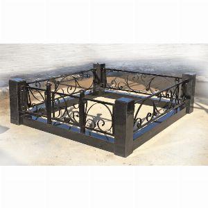 Ограда с гранитом - Комплекс Лиана