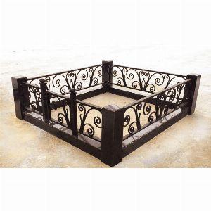 Ограда с гранитом - Комплекс Лоза