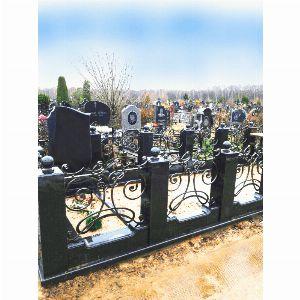 Ограда с гранитом - Комплекс Моцарт